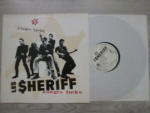 "LES SHERIFF ""ALLEGRO TURBO"" / ADF005LP/ FIRST PRESS  / VINYL / VG-VG"