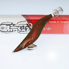 RUI SQUID JIG THE HULK GREEN TURN GOLD RED BELLY SIZE 3.5 EGI LURE