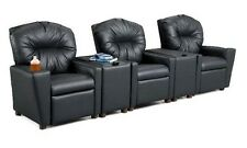 Home Theater Seating Movie Seats Recliners For Kids Kid Recliner With Storage 3
