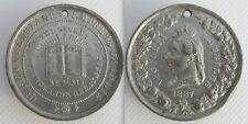 Queen Victoria 1887 Jubilee Medal - Greatest Queen - Empress Of India