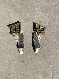 88-91 Honda Civic WAGON Oem Front Bumper Side Fender Mounts Wagon EE Shuttle