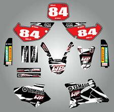 Full Custom Graphic Kit Yamaha YZ 85 - 2002 - 2014 Black Safari sticker kit