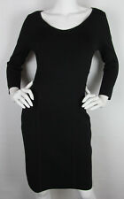 Ralph Lauren Pencil dress Wiggle knee length Bodycon Rayon Black Womens Size S