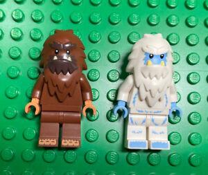 Squarefoot Series Big Foot Yeti Monsters Halloween LEGO® Minifigure X2