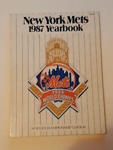 1987 New York Mets Yearbook World Championship Edition