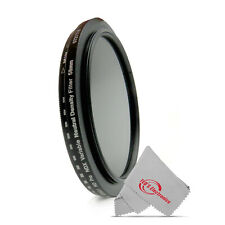 Vivitar 58mm Neutral Density Variable Fader NDX Filter ND2 to ND1000