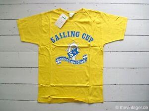 NWT 90er DIADORA SAILING CUP T-Shirt Italy Capri True Vintage College America's