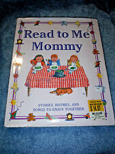 Read to Me Mommy Hardcover BY ALISTAIR HEDLEY 2002 LIKE NEW Stories Rhymes Songs