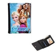 Disney Frozen Personalised Photo Mens or Ladies, Girls Purse Wallet 12cm x 9cm