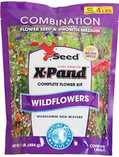 X-Seed X-Pand Ultra Wildflower Combination Seed Mix, 1-Pound 1 lb