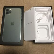 iPhone 11 Pro Max BOX ONLY 256GB Midnight Green