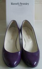 Russell & Bromley púrpura bomba Tacones Tribunal Zapatos Talla EU 39.5 UK 6.5