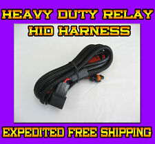 Xenon HID Conversion Kit Relay Wiring Harness Wire Upgrade Pack For H4 9003 HB2