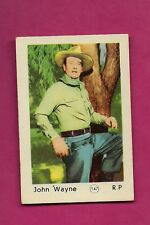 RARE 1950S JOHN WAYNE R.P  GUM  EX-MT  CARD (INV# A2024)
