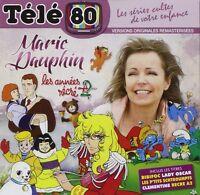 """RARE! CD NEUF """"TELE 80 : MARIE DAUPHIN, LES ANNEES RECRE A2"""" Bibifoc, Clementine"""