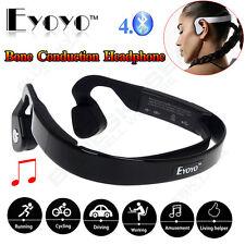 Open Ear Sports Bone Conduction Bluetooth  Wireless Headphone HD Stereo Headset