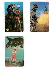 Teleworld 1994 Ultraman three different phone cards