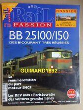 RAIL PASSION n°26 BB 25100 Les DEV inox