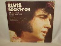 ELVIS PRESLEY - 2 LP SET - ROCK 'N' ON