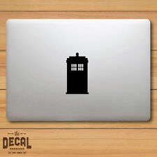 Doctor Who inspired Tardis Macbook Sticker / Macbook Decal / Cover / Skin