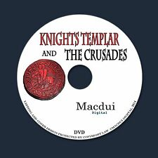 Knights Templar & Crusades Vintage E-Books Collection 96 PDF on 1 DVD Freemasons