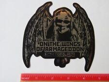Bier Sammlerstück Aufkleber ~ Dc Bräu Gär On The Flügel von Armageddon Imp Ipa
