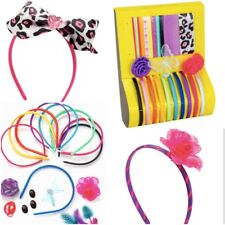 Fashion Head Band Kit Hairband Head Band Gift Hair Accessories Creativity Kids