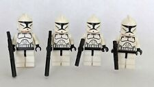 Lego Star Wars Clone Trooper Minifigures Lot Of 4 Phase 1 sw201