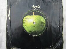 RINGO STARR IT DON'T COME EASY / EARLY 1970 apple 5898 ......  pop '70's 45 rpm