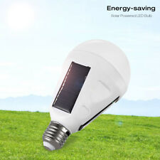12W Portable Solar Panel Powered LED Bulb Light Emergency Lamps Camping light PS