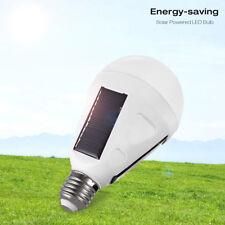 Portable 12W Solar Panel Powered LED Bulb Light Emergency Lamps Camping light