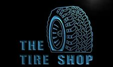 Tire Shop Led Neon Light Sign Car Trader Home Service Garage Room Decor Gift