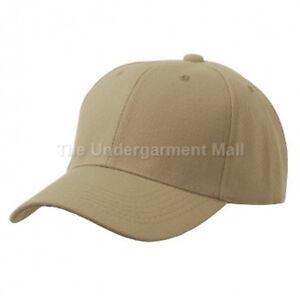 Baseball Cap Plain Kids Girls Strapback Solid Hats Polo Style Hook-N-Loop New