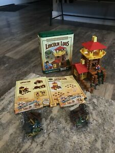 LINCOLN LOGS FRONTIER JUNCTION! Building Set. Used but EXCELLENT CONDITION!!
