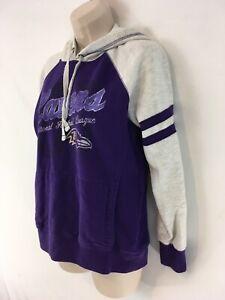 NFL Team Apparel Womens S Baltimore Ravens Hoodie Hooded Sweatshirt