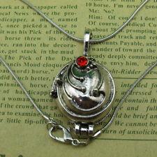The Vampire Diaries Elena's Vervain Antique Silver Locket Vintage Look Necklace