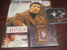 TOM JONES TOM SINGS THE BEATLES VERY RARE 180 GRAM IMPORT LP + LIMITED 3 CD SET