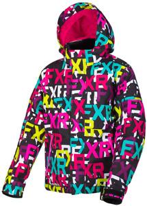 FXR Youth Kids Girls FRESH Sledding SNOW JACKET COAT PARKA -Size 10 -14 -16 -NEW
