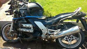 Bmw K1200rs breaking complete bike left hand side rear seat panel fairing