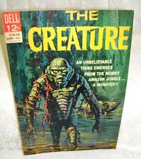 Dell Comics The Creature No 1 First Issue Twelve Cent Comic 2nd Printing