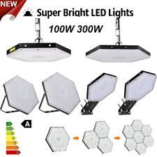300W UFO LED Hallenbeleuchtung Deckenstrahler Werkstattleuchte Industrielampe DE