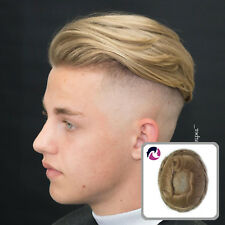 Natural Full French Lace Wigs For Men Hair Replacement System Noblehairplus