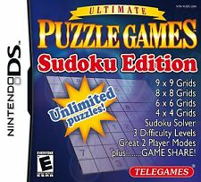 Ultimate Puzzle Games: Sudoku Edition