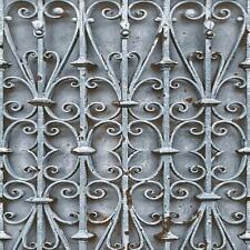 Muriva Iron Trellis Pattern Wallpaper Modern Ornate Photographic Gate L14701