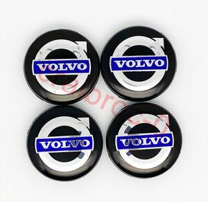 4pcs Wheel Center Cap Hub for Volvo v40 - V90 S40 S60 S80 XC60 XC70 XC90 64mm