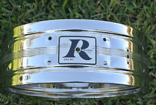 70's VINTAGE Rogers BIG R ERA DYNA-SONIC SNARE SHELL for YOUR DRUM SET! #D829