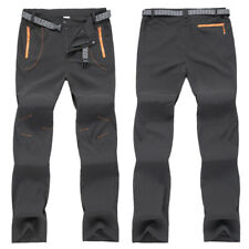 Mens Waterproof Combat Hiking Climbing Trousers Trekking Tactical Outdoor Pants