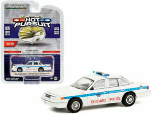 Greenlight 1:64 1995 Ford Crown Victoria CPD Chicago Police Model Car  42930D