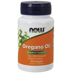 Now Foods OREGANO OIL 90 Softgels - Anti-Viral, Anti-Bacterial & Anti-Fungal