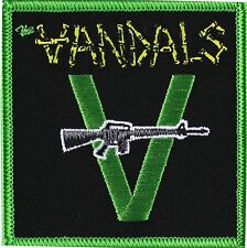 """The Vandals with Gun Patch 3"""" x 3"""" Licensed by C&D Visionary P4278 Free Shipping"""